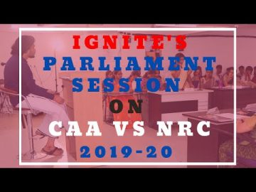 IGNITE'S MOCK PARLIAMENT SESSION-2