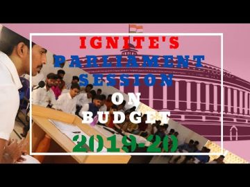 IGNITE'S MOCK PARLIAMENT SESSION 1